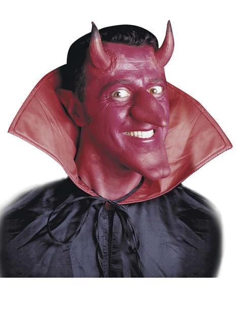 Set de prótesis de cuernos de diablo - para tu disfraz