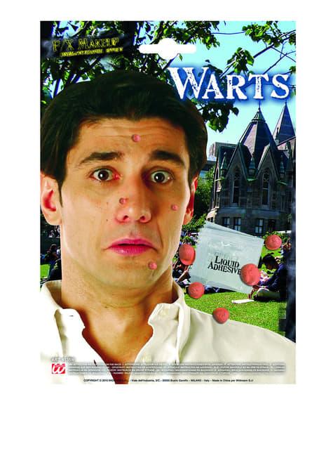 Set of 5 Warts