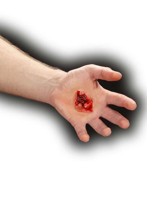 Herida de bala de gran calibre - para tu disfraz