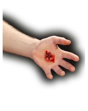 Herida de bala de gran calibre
