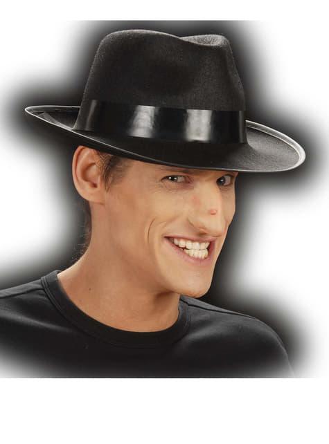 Nariz de hombre malvado con verruga - para tu disfraz