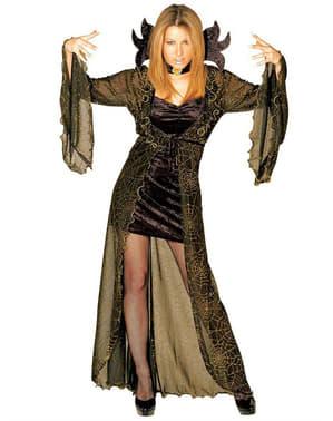 Elegant Edderkopp Dronning Kostyme