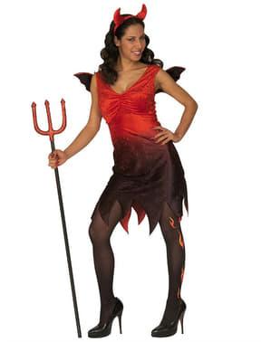 Női Szexi Perverz Ördög jelmez