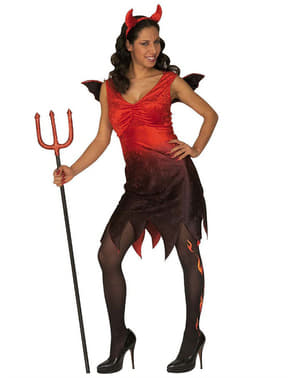 Womens Sexy Perverse She Devil Costume