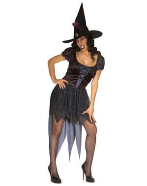 Costum de vrăjitoare malefica sexy