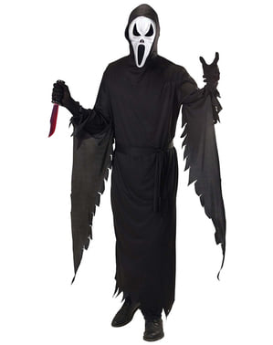 Scream mördare Maskeraddräkt