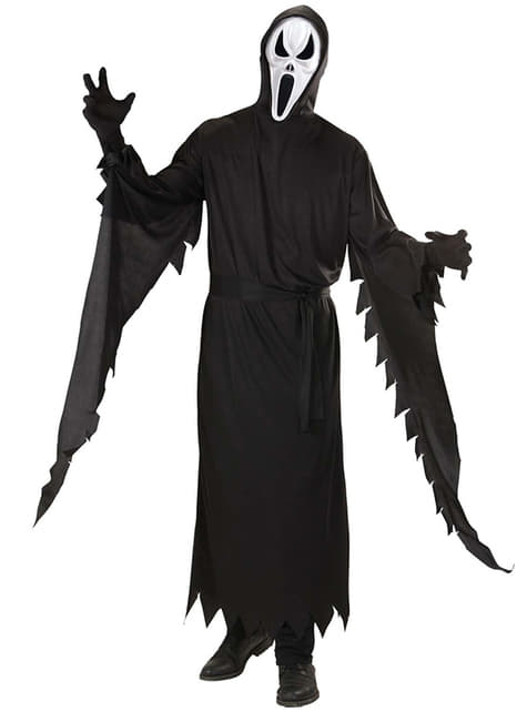 Disfraz de asesino scream - hombre