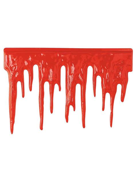 Dekoracja z krwi