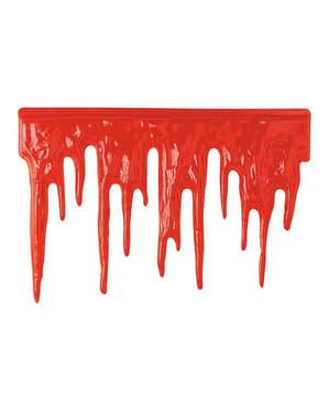 Blut zur Dekoration