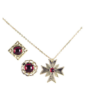 Médaillon et anneaux de Dracula