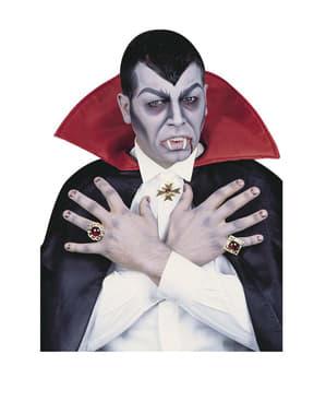 Dracula Medaillon und Ringe