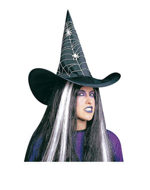 Witch Hat with Cobwebs