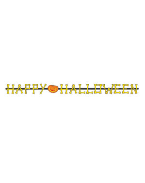 Collana di ossa Happy Halloween