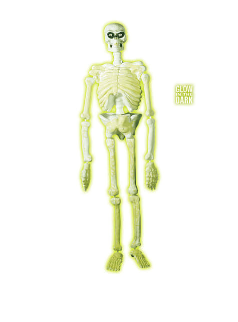 Decoración colgante de esqueleto (150 cm)