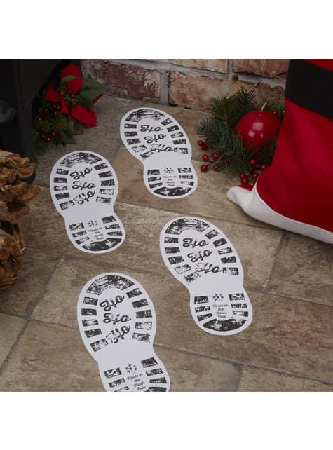 "12 ""Ho ho ho"" jalanjälkitarroja – Dear Santa"