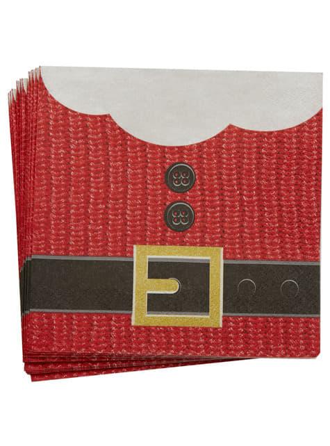 16 servilletas navideñas de papel (33x33 cm) - Dear Santa - barato