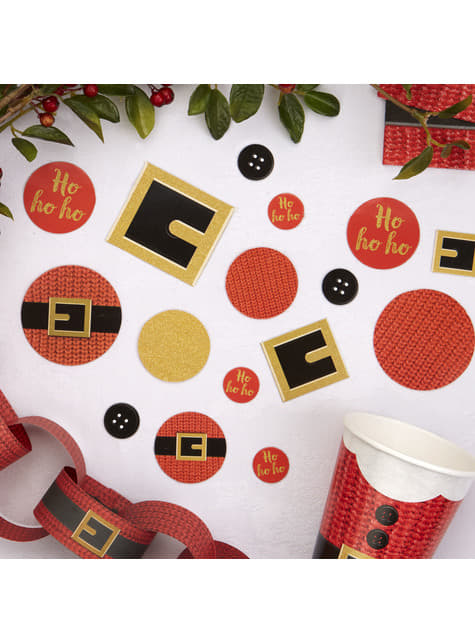 Různé stolní konfety vánoční - Dear Santa