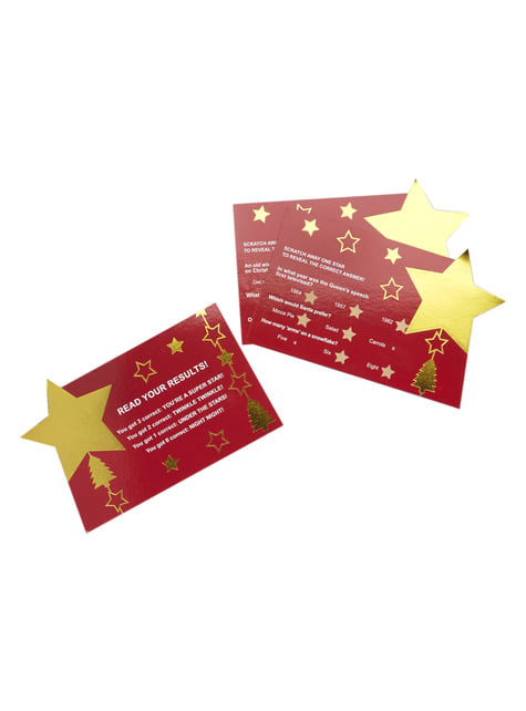 10 cartes amusantes - Dazzling Christmas