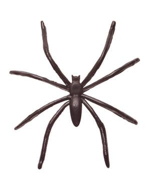 50 svarta spindlar