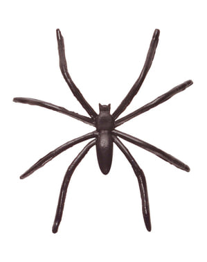 Sæt af 42 sorte edderkopper