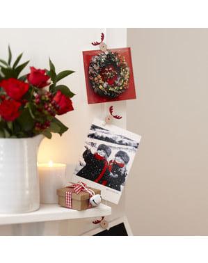 Zestaw dekoracji renifer – Rocking Rudolf
