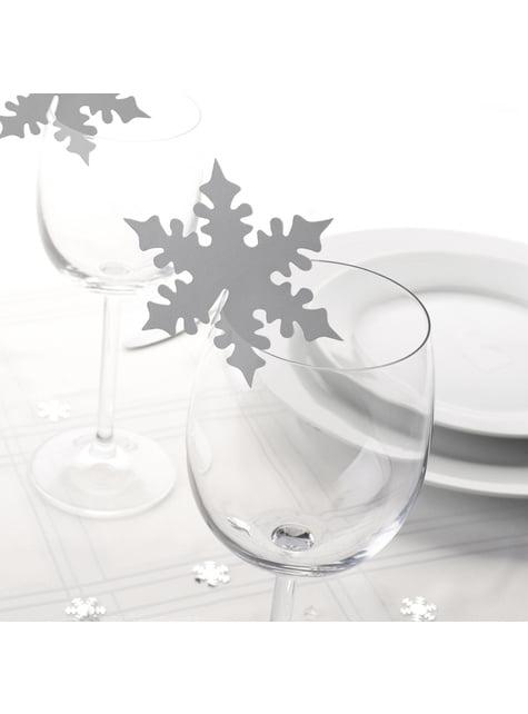 10 hopeaa lumihiutalekuppisomistetta – Snowflake
