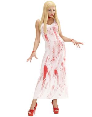 נשים סקסיות מוכתמים בדם ילדת תלבושות