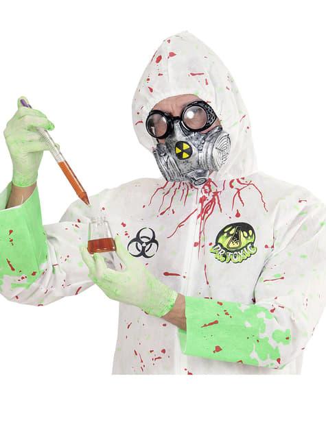Máscara de científico nuclear - para tu disfraz