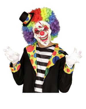 Maska krvežíznivý klaun