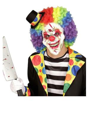 Masque de clown sanguinaire