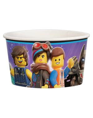 8 pots à glace Lego 2 -La Grande Aventure Lego 2