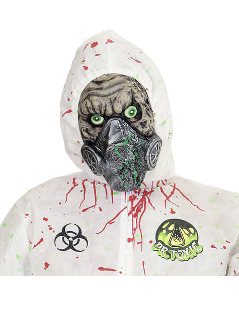 Máscara de zombie atómico
