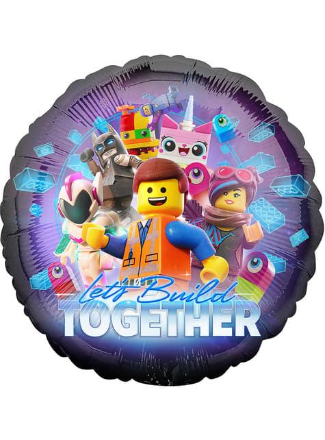 Globo de foil de Lego 2 - Lego Movie 2