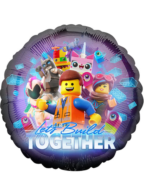 Lego 2 Foil Balloon - Lego Movie 2
