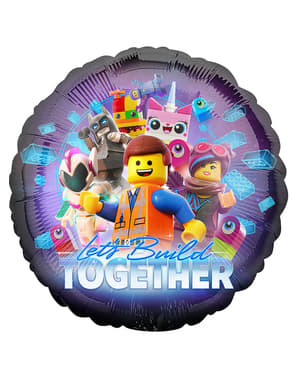 Globo de foil de Lego 2 - Lego Movie 2