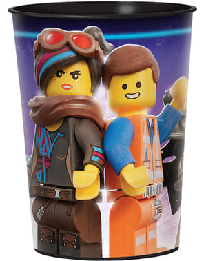 Lego 2 Hard Plastic Cup - Lego Movie 2