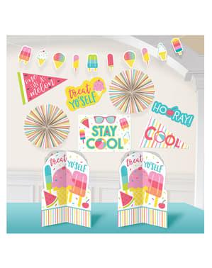 Kit de decoração de festa de verão - Just Chillin