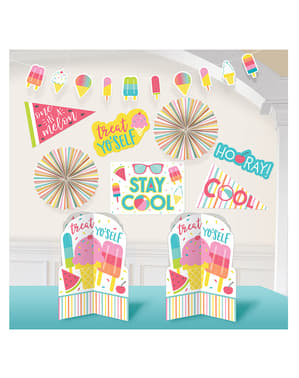 Summer Party Decoration Kit - Just Chillin