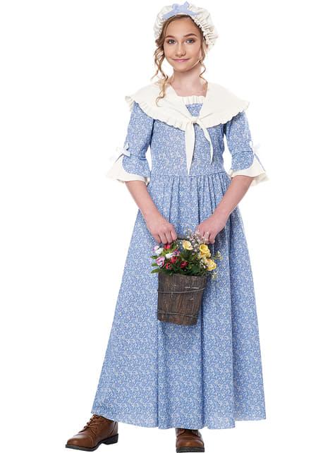 Déguisement paysanne colonial fille