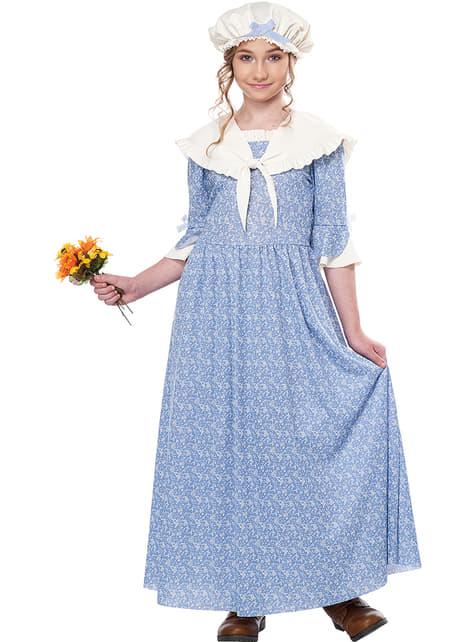 Mittelalter Magd Kostüm für Mädchen