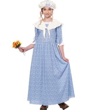 Disfraz de campesina colonial para niña