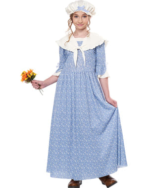Koloni Bonde Kostyme til Jenter