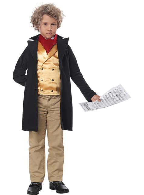 Disfraz de Beethoven para niño - infantil