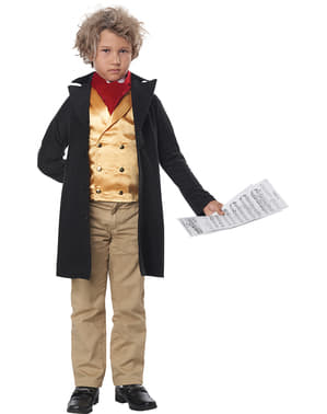 Disfraz de Beethoven para niño