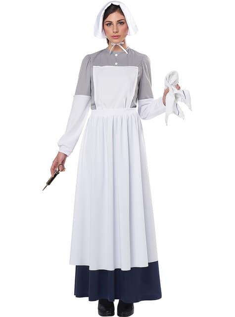 Disfraz de enfermera de la Guerra Civil para mujer