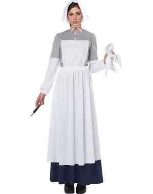 Burgeroorlog verpleegster kostuum voor vrouw