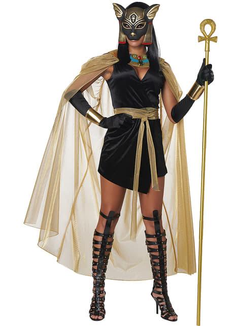 Disfraz de diosa egipcia Bastet para mujer