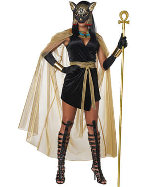 Bastet Egyptian Goddess Costume for Women