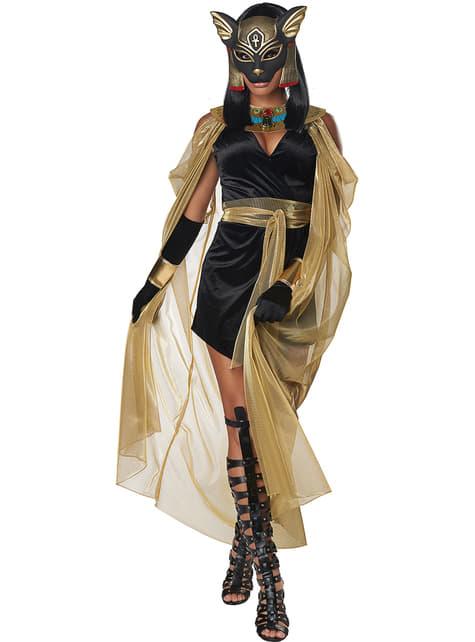 Disfraz de diosa egipcia Bastet para mujer - mujer