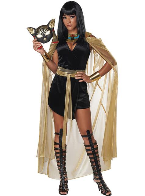 Disfraz de diosa egipcia Bastet para mujer - original